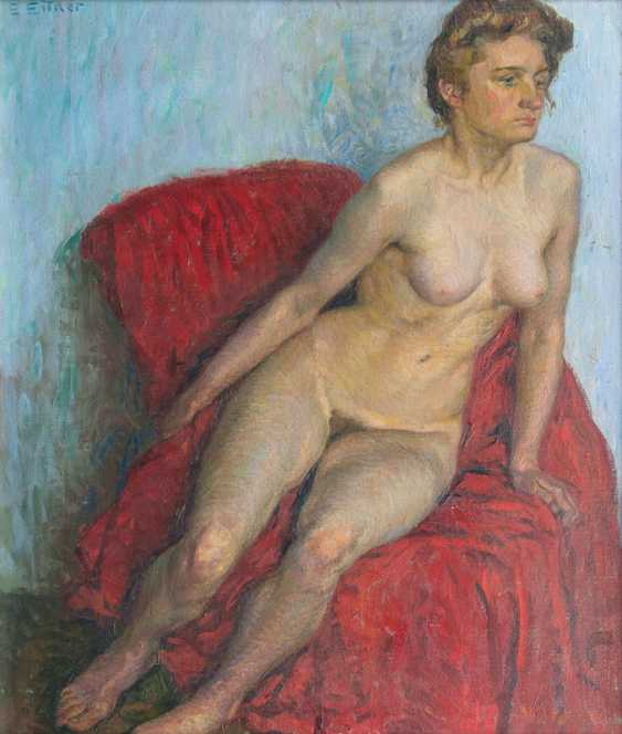 "Ernst Eitner ""girl in Red"" - photo 1"