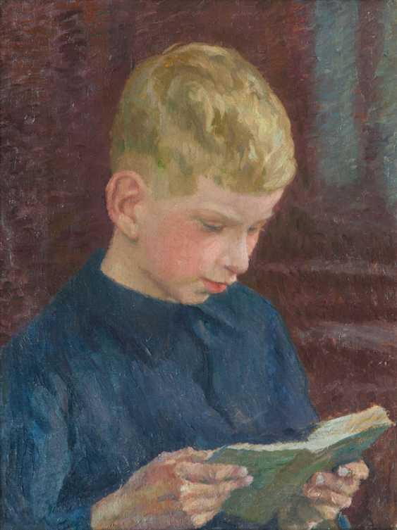 "Ernst Eitner ""Alexander Eitner reading"" - photo 1"
