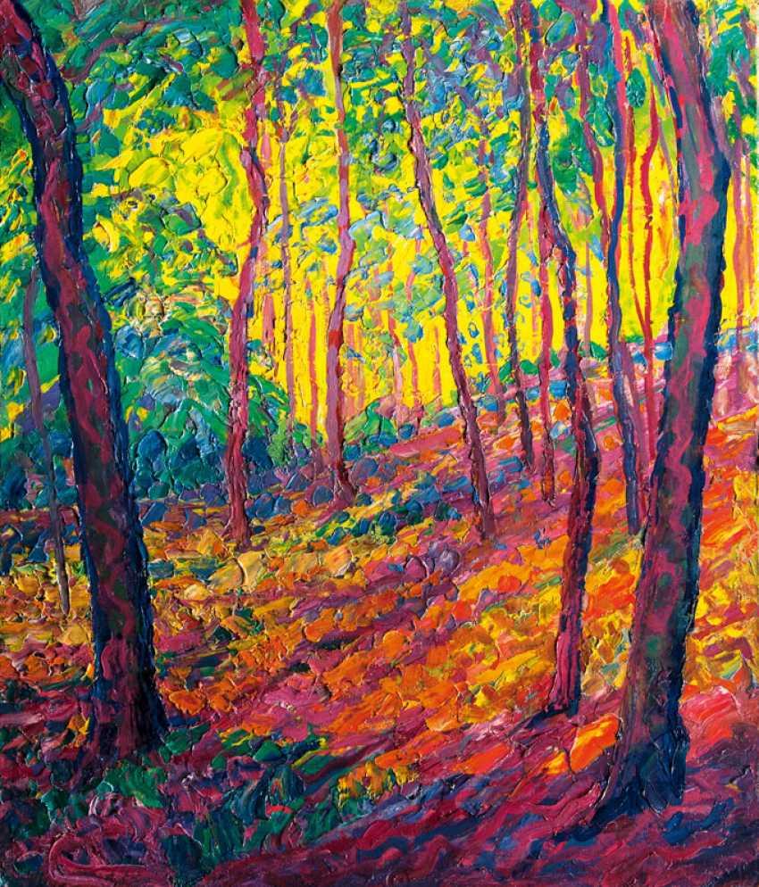 """Heinrich Blunck-Heikendorf """"Bright Forest"""" - photo 1"""