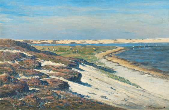 "Franz Korwan ""Lister wall dune on the island of Sylt"" - photo 1"