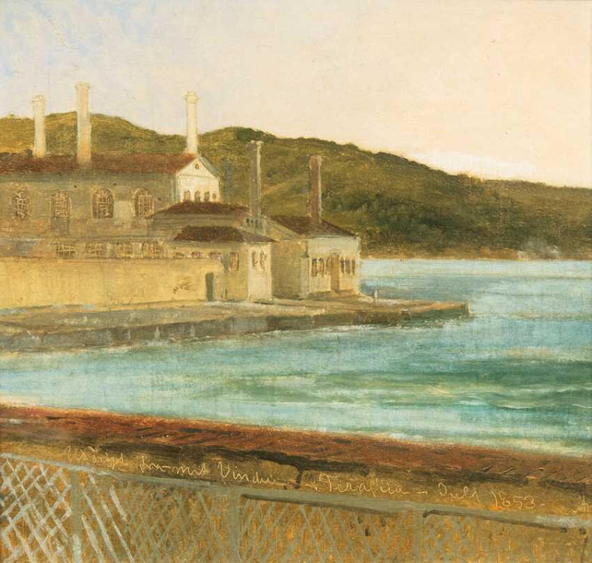 "Anton melbye, d-abfa ""building on the shore"" - photo 1"