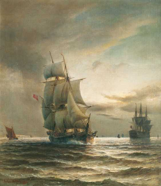 "Anton Melbye, D-Abfa ""Ship Transport"" - photo 1"