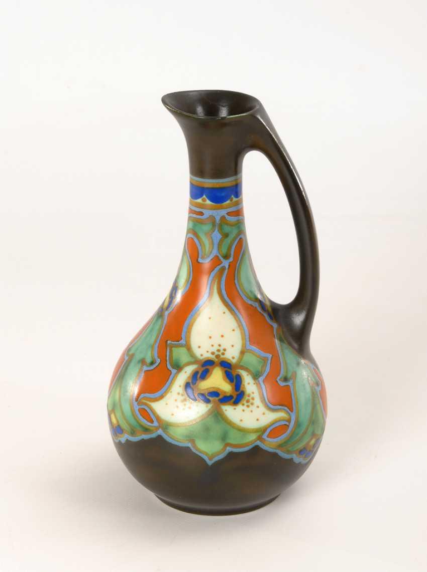 Jugendstil-Vase, Goedewaagen. - Foto 1