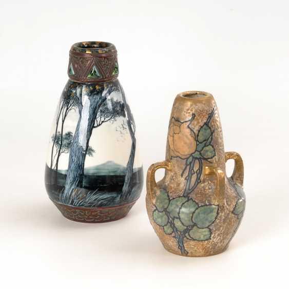 2 Jugendstil-Vasen. - Foto 1