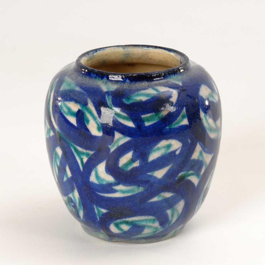 Jugendstil-Vase, Max Laeuger. - Foto 1
