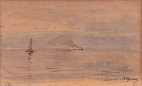 "Carl Wilhelm Hugo Schnars-Alquist ""On the Elbe"" - photo 1"