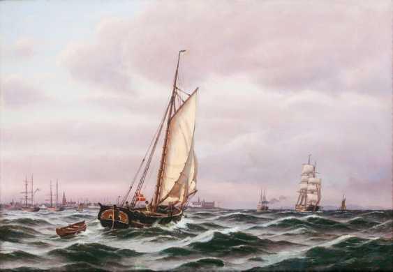 "Johan Jens Neumann ""ship traffic in front of Kronborg"" - photo 1"