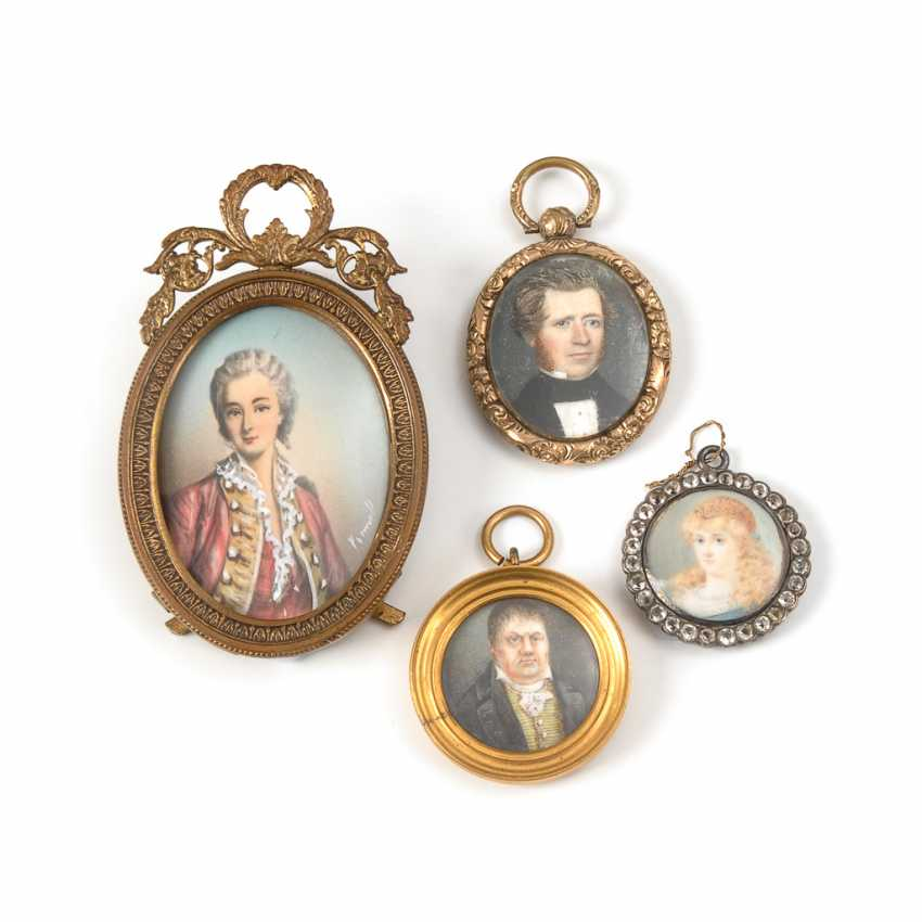 4 Miniaturen. - Foto 1