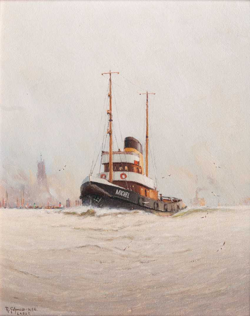 "Robert Schmidt-Hamburg ""Of The Hamburg-Based Tug Michel"" - photo 1"