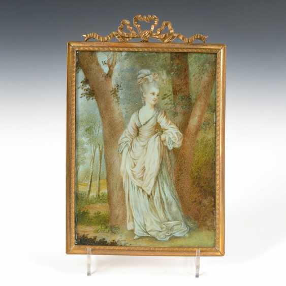 Miniatur: Dame im Wald. - Foto 1