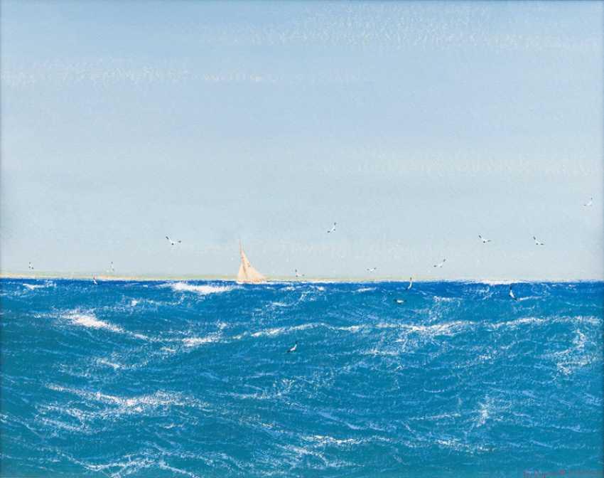 """Robert Schmidt-Hamburg """"East wind at Kerkenes"""" - photo 1"""