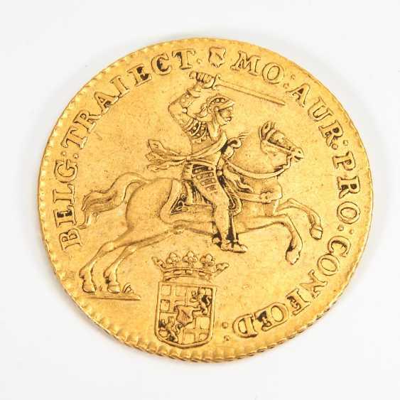 """14 Gulden, Utrecht, 1761, """"Goldener Reiter"""". - Foto 1"""