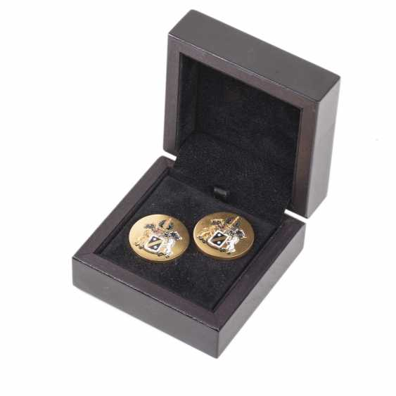 Personal cufflinks of a member of a noble family Radakovich