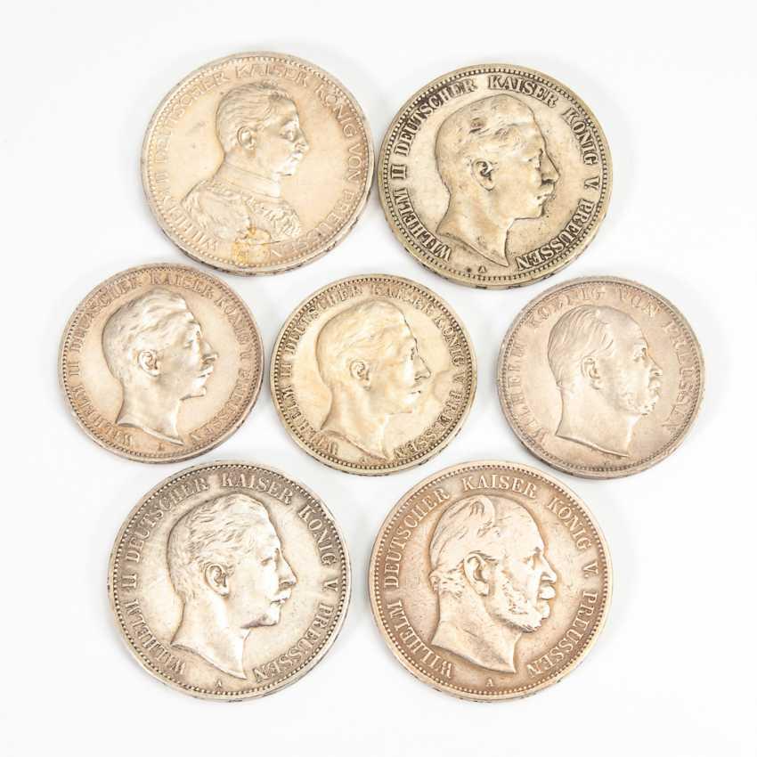 Preußen 7 Münzen. - Foto 1