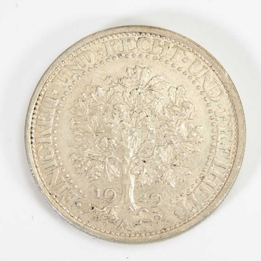 5 Reichsmark 1929, - Foto 1
