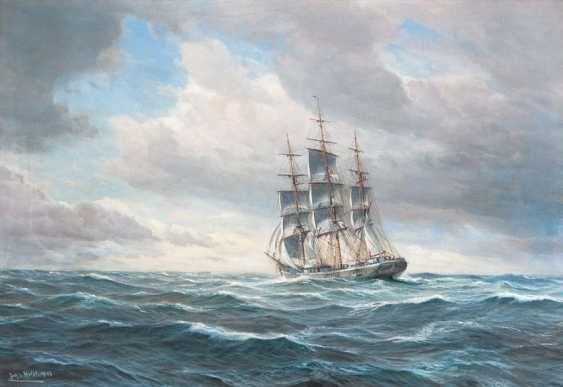 "Johannes Holst ""Three Mast Full Ship"" - photo 1"