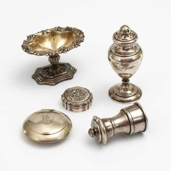5 dekorative Kleinteile. - Foto 1