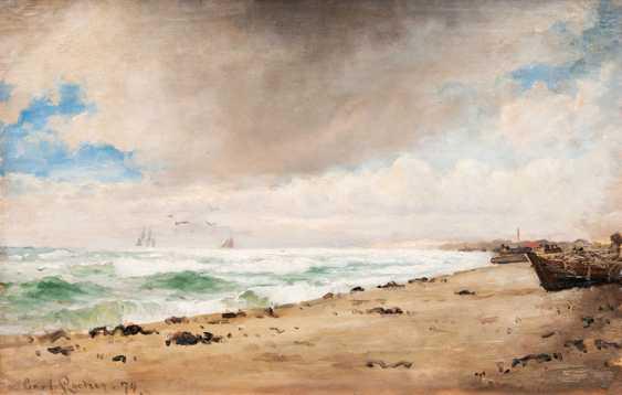 Carl Ludwig Thilson Locher ''An der See'' - photo 1