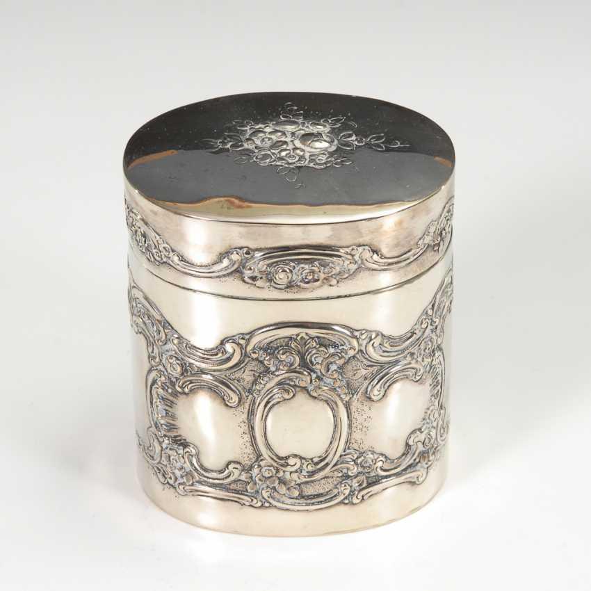 Silberne Teedose. - Foto 1