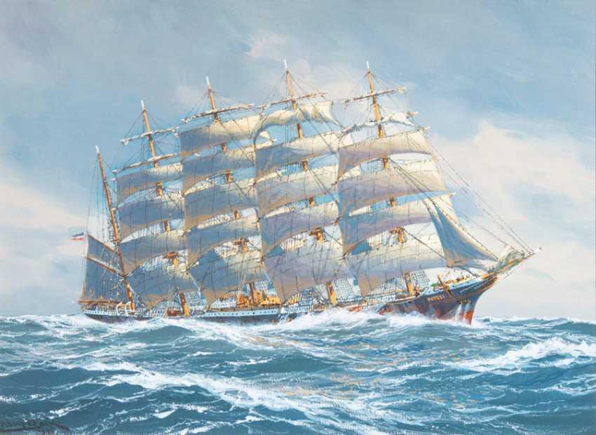 "Adolf Bock ""Five-Masted Barque Potosi"" - photo 1"