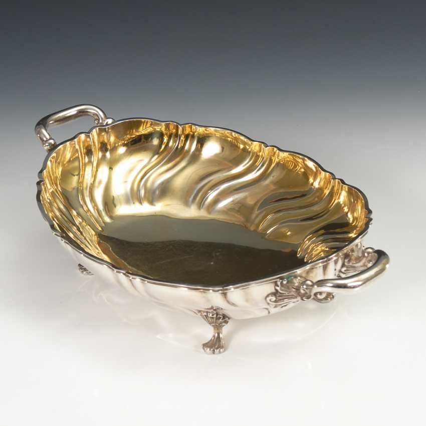 Ovale Silberschale. - Foto 1