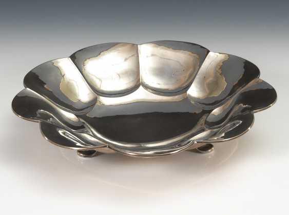 Silberschale Art déco. - Foto 1