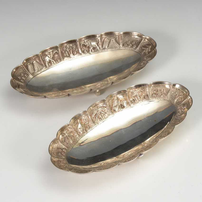 2 Silberschälchen. - Foto 1