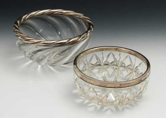 2 Kristallglasschalen. - Foto 1