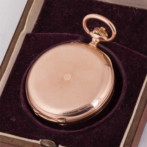 Pocket watch with the national emblem in wooden box