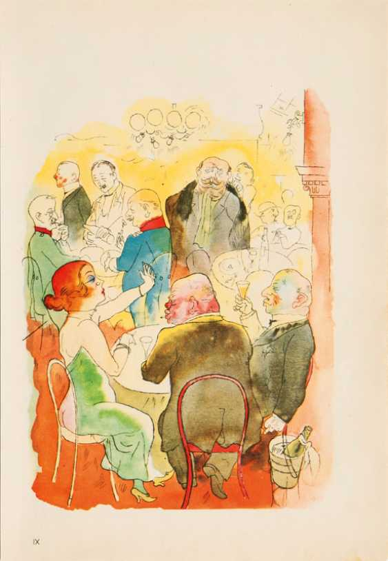 "George Grosz ""Evening"" - photo 1"