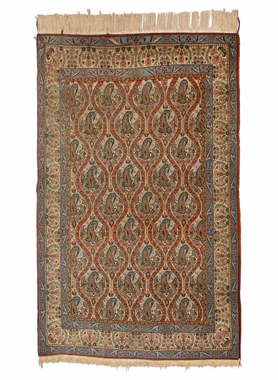 Teppich mit Boteh-Muster. - Foto 1