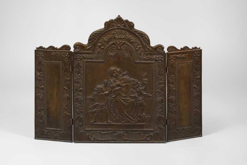 "Ofenschirm ""Anno 1667"". - Foto 1"