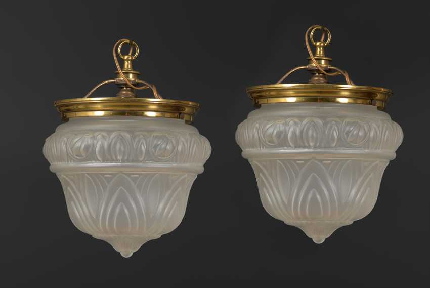 Pair of French ceiling lights. - photo 1