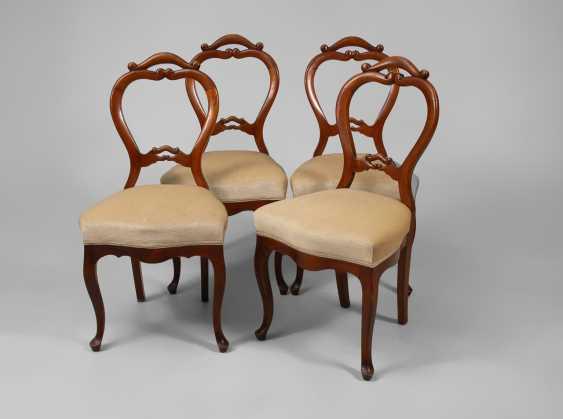 4 Stühle, Louis-Philippe. - Foto 1