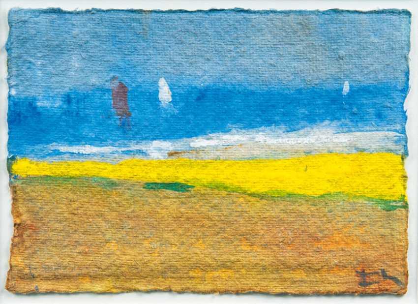 "Klaus Fussmann ""Baltic sea off Gelting"" - photo 1"
