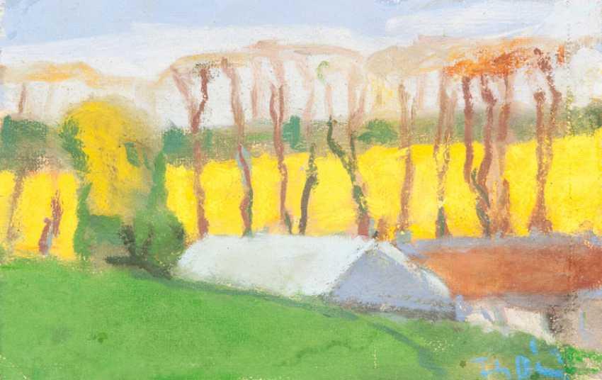 """Klaus Fussmann """"landscape in Esgrus"""" - photo 1"""