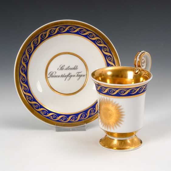 Biedermeier Cabinet Cup KPM Berlin. - photo 1