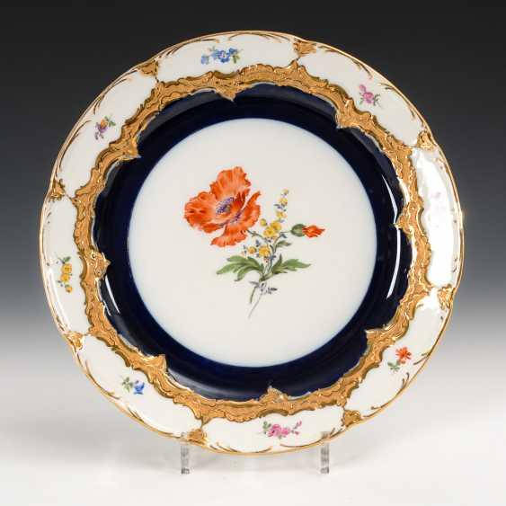 "Cake Plate ""B-Form"", Meissen. - photo 1"