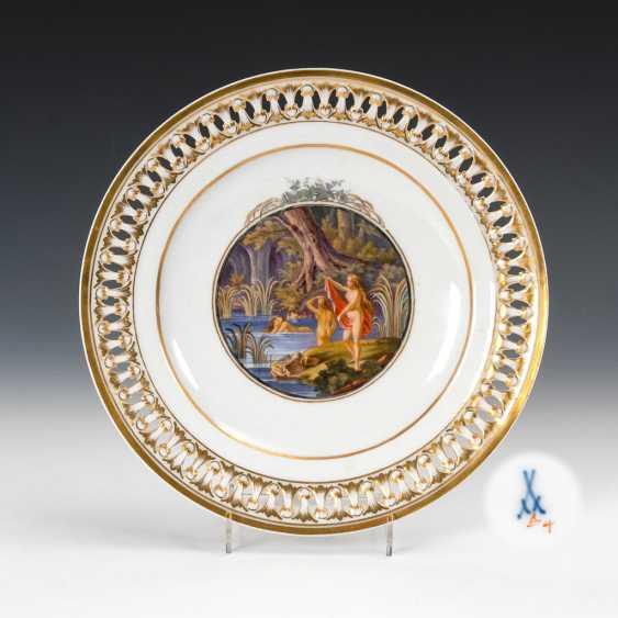 Biedermeier Plates, Meissen. - photo 1