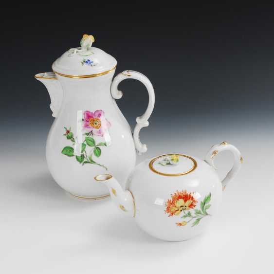 Coffee pot and teapot, Meissen. - photo 1