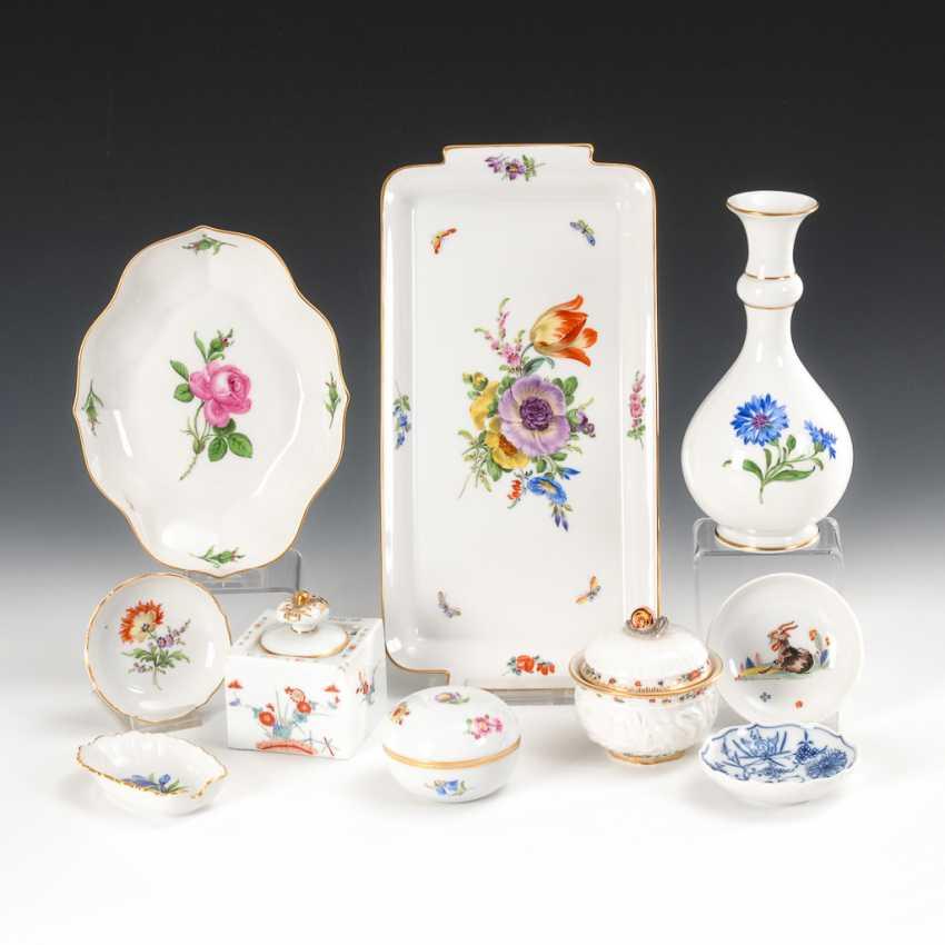 10 Parts Of Porcelain, Meissen. - photo 1