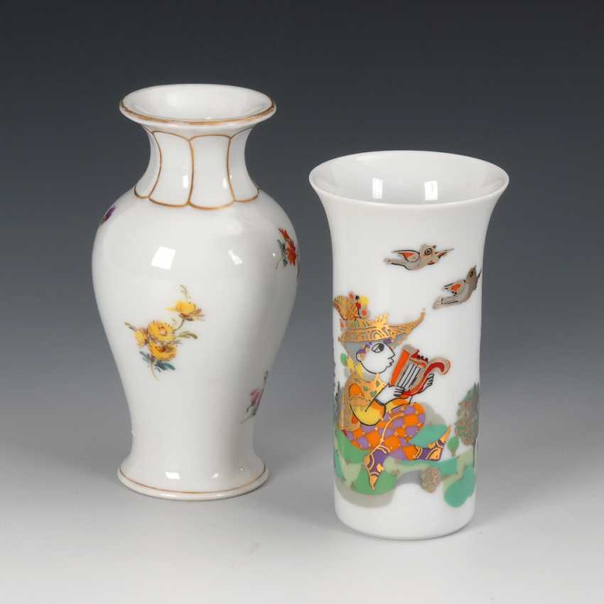 2 kleine Vasen. - Foto 1