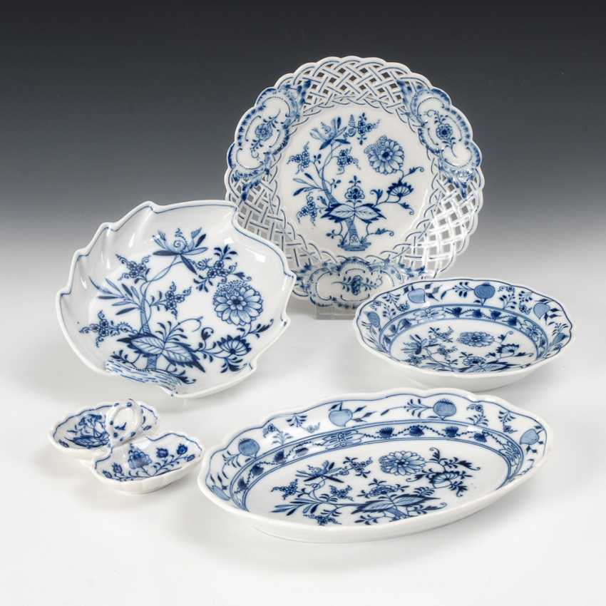 5 Onion Pattern-Porcelain, Meissen. - photo 1