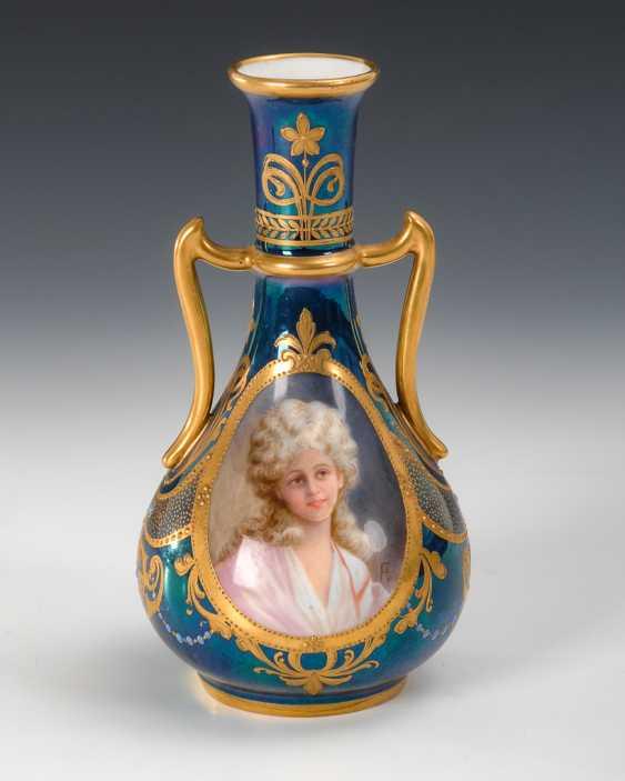 Jugendstil-Vase im Wiener Stil, Dresden. - Foto 1