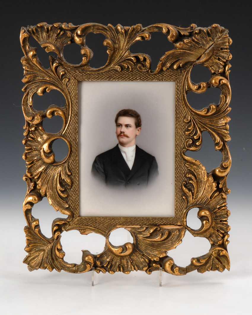 Porcelain Painting: Mr Portrait. - photo 1