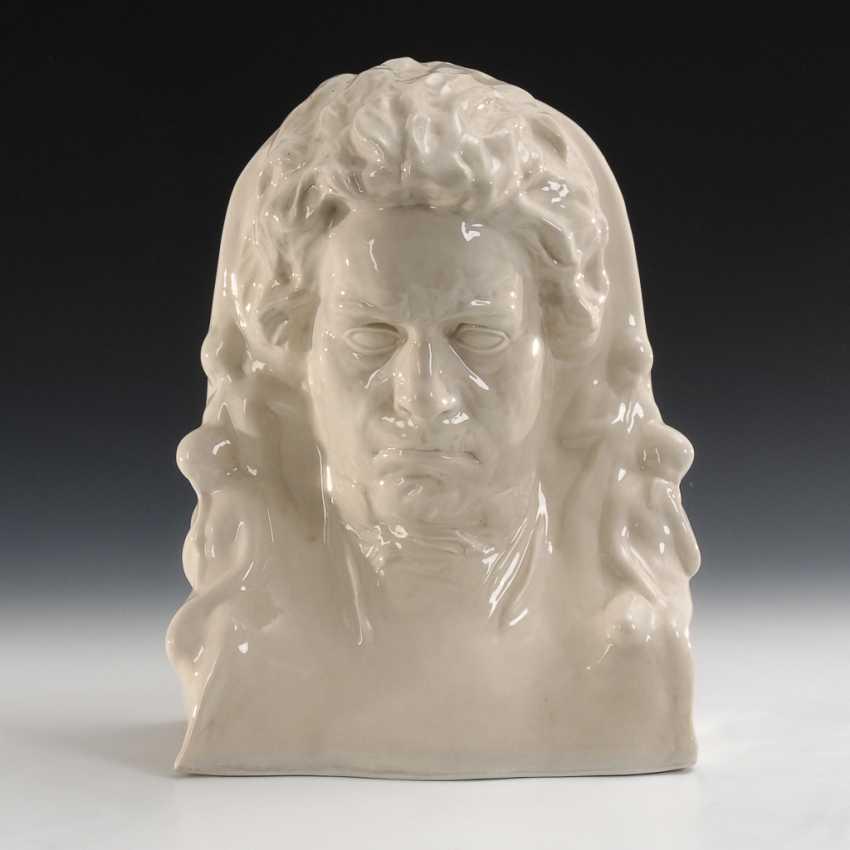Beethoven-Büste, ENS. - Foto 1