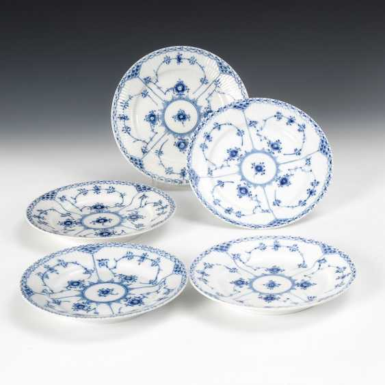 """5 Breakfast Plate """"Musselmalet"""", Royal Copenhagen. - photo 1"""