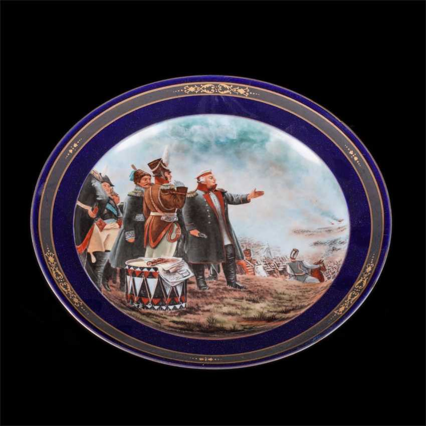 "Decorative dish ""On Borodinsky hills"" - photo 1"