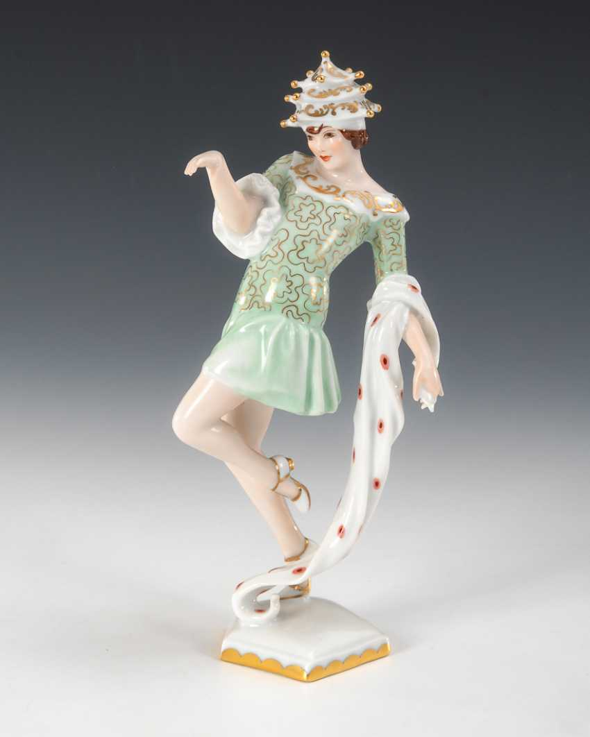 "Art Deco dancer ""whipped Cream"", Augarten. - photo 1"