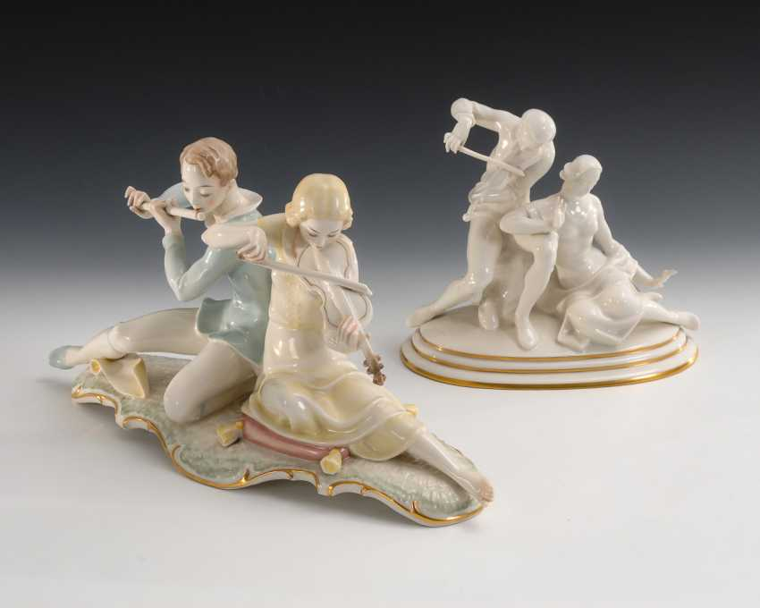 """""""Adagio"""" und """"Sonate"""", Hutschenreuther. - Foto 1"""